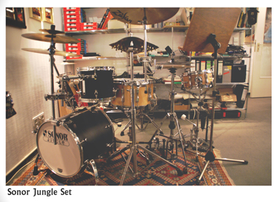 Sonor Jungle Set - Pic 1 of 2